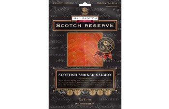 St. James Smokehouse Scottish Smoked Salmon (4oz)