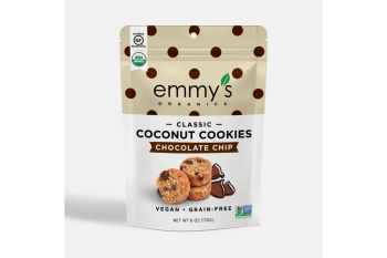 Emmy's Organic Coconut Cookie - Chocolate Chip (6oz Bag)