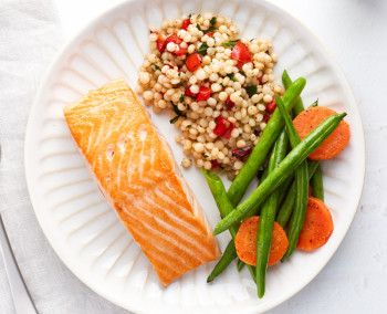 Simply Cooked Salmon