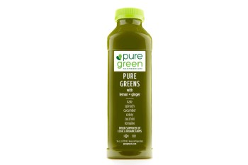Pure Green Cold Pressed Juice, Greens w/Lemon & Ginger (16 fl oz)