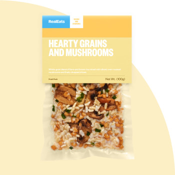 Hearty Grains and Mushrooms