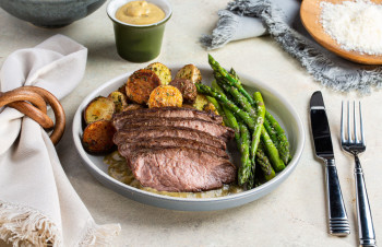 Dijon Mustard Steak