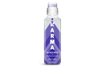 Karma Wellness Water - Elderberry Starfruit (18 fl oz)