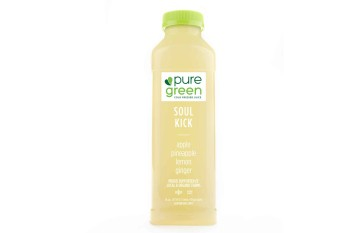 Pure Green Cold Pressed Juice, Soul Kick (16 fl oz)