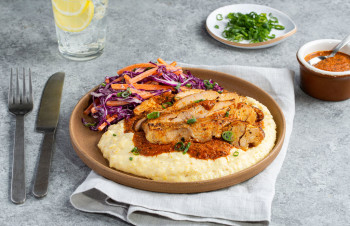 Southern Style Chicken & Grits